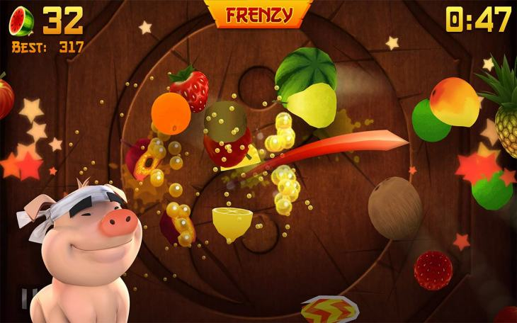 Fruit Ninja Free version 2 for Android