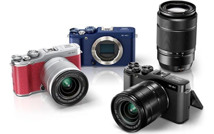 Fujifilm X-A1 mirrorless features list and price revealed