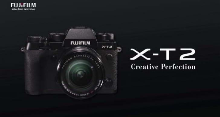 Fujifilm X-T2 pre-order with Jessops bonus