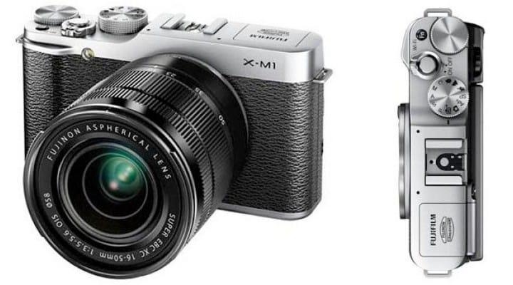 Fujifilm X-M1 vs. X-E1 in visual review