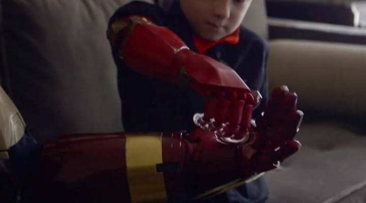 Fully-functioning Iron Man prosthetic arm costs $350