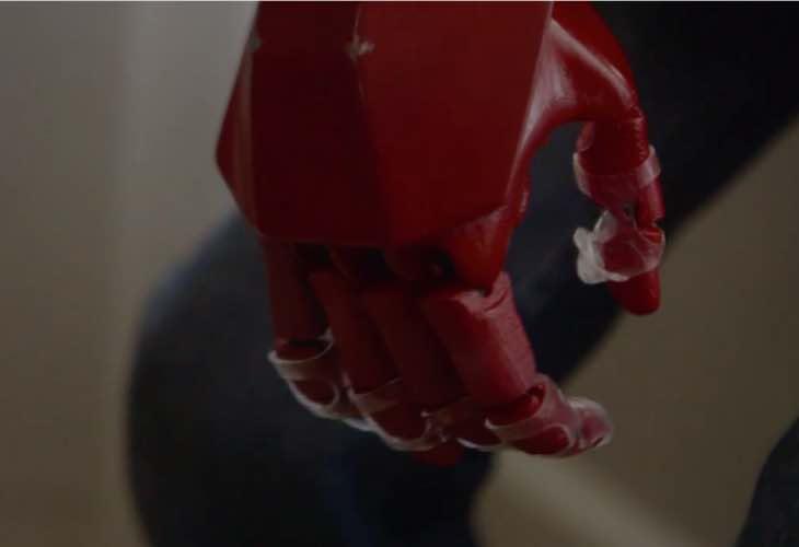 Fully functioning Iron Man prosthetic arm
