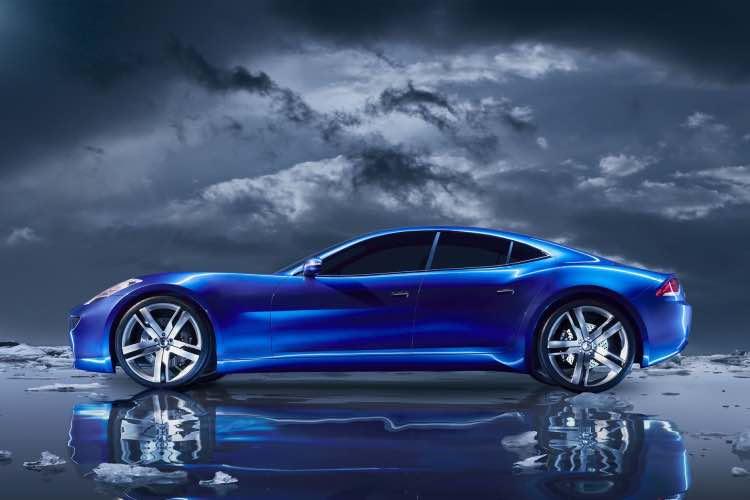 Future Fisker Karma model