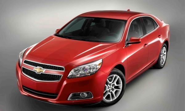 GM recalls 2011-2013 Chevrolet Malibu, range of issues