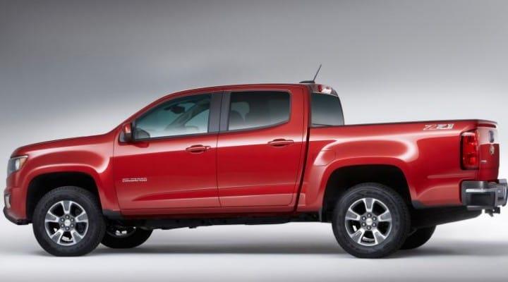 GM recalls 2015 Chevrolet Colorado, GMC Canyon