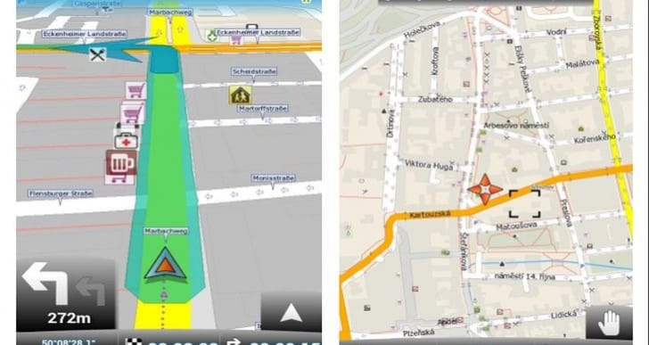 GPS for Android tablet with offline maps
