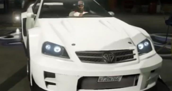 GTA V Benefactor Feltzer location plus customization