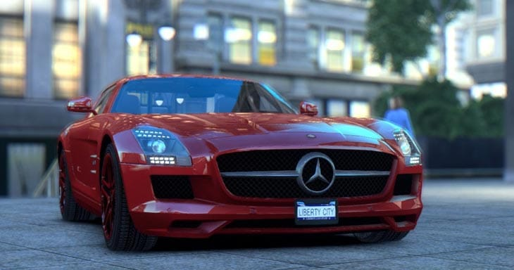 GTA-IV-dream-for-5-first-red-car