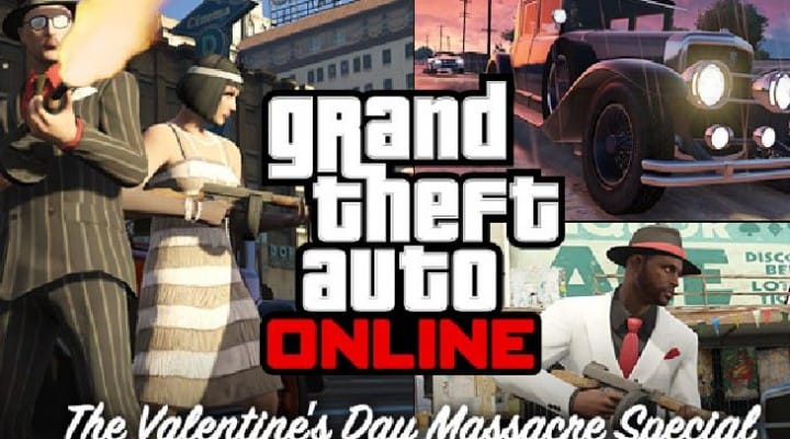 Free GTA Online update for Valentine's Day Massacre