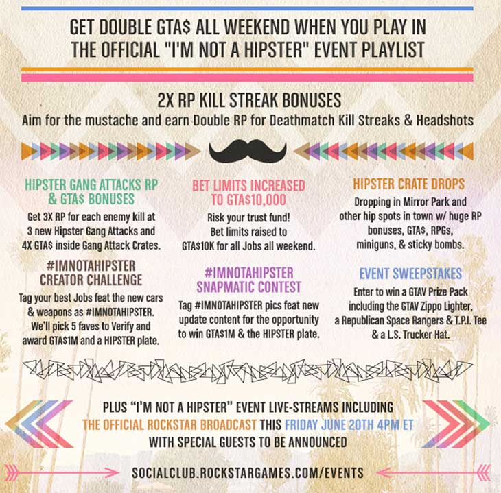 GTA-Online-double-RP-Hipster-event