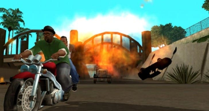 GTA San Andreas for Windows Phone 8 now live
