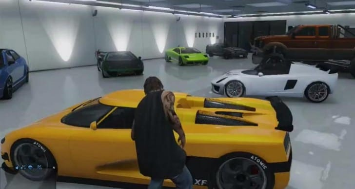 GTA V DLC will rearrange cars in garage