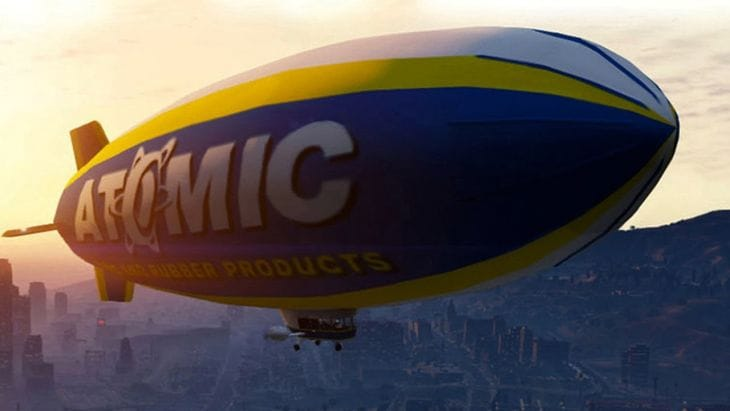 GTA V Atomic Blimp gameplay and location