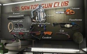 GTA V DLC weapons still craved