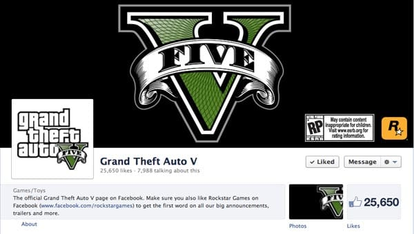 GTA V social channel promises news first