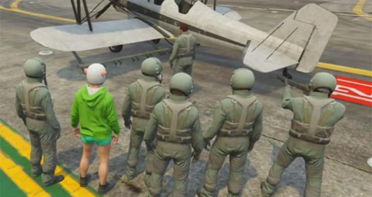 GTA V Flight School funny moments