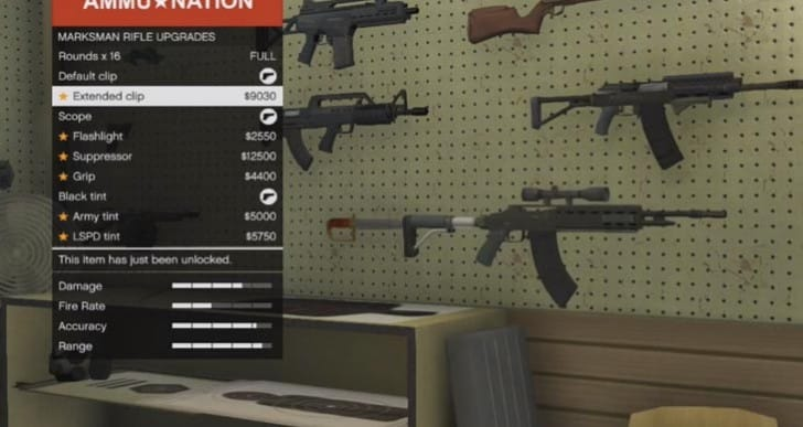 GTA V LTS update: Heavy Shotgun, Marksman Rifle upgrades