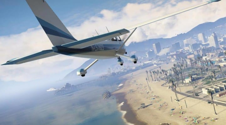 GTA V update for National Aviation Day
