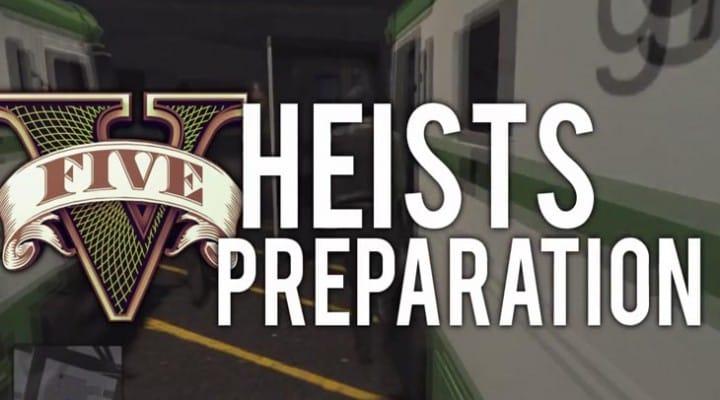 GTA V Online Heists preparation