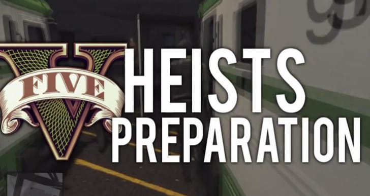 GTA V Online Heists preparation