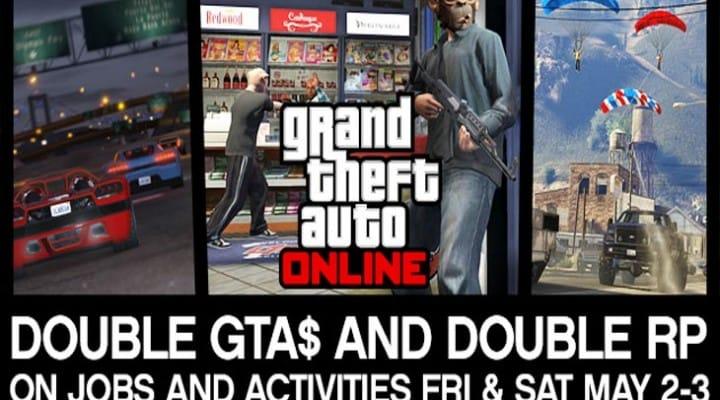 GTA V double RP weekend before Dec 23 update?