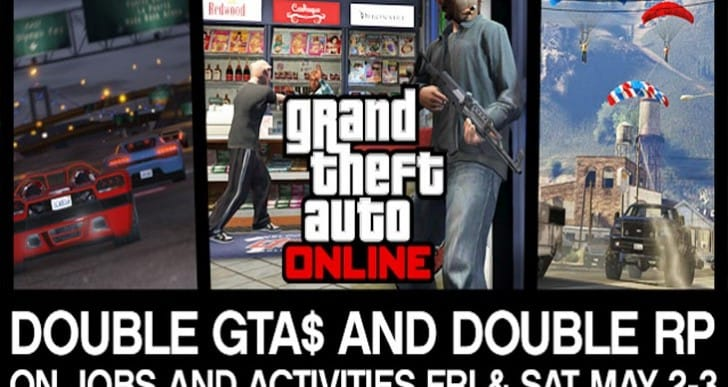 GTA V double RP weekend before Dec 23 update?