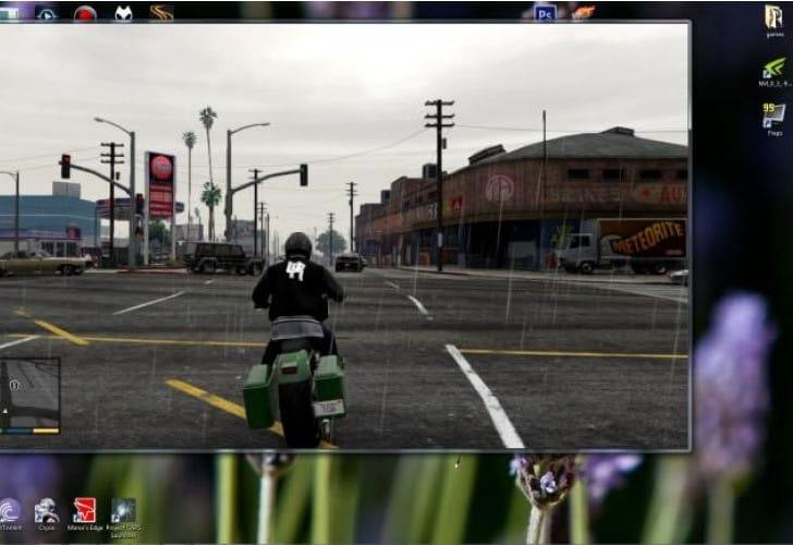 Как сделать полный экран в игре gta 5