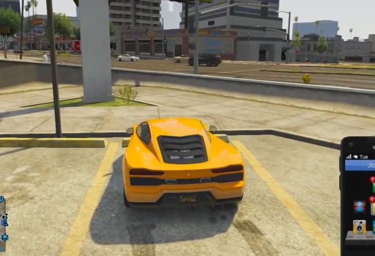 GTA V Phoenix car online location