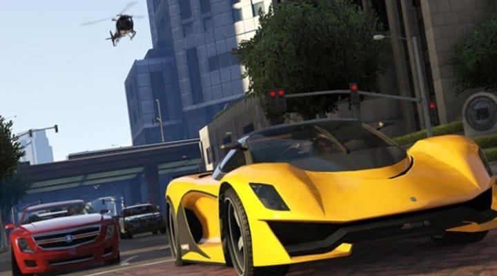 Dinka Jester model in GTA V business DLC