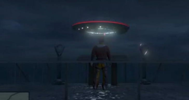GTA V Online UFO mod reason for sightings