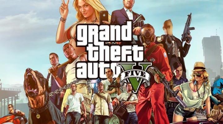 GTA V April Fools for 1.12, PS4 update