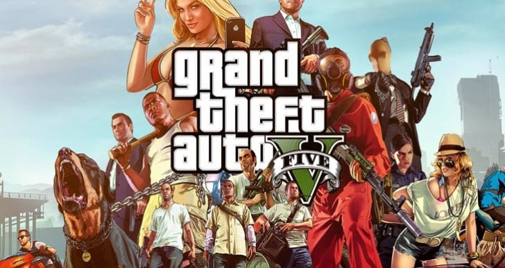 GTA V April Fools for 1.12, PS4 update