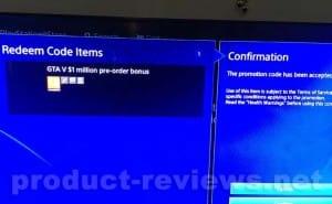 GTA V cash bonus PS4 redeem code misleads