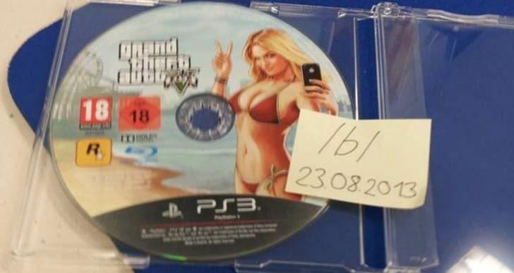 GTA V early PS3 release captured