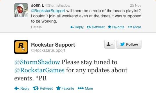 GTA V event response