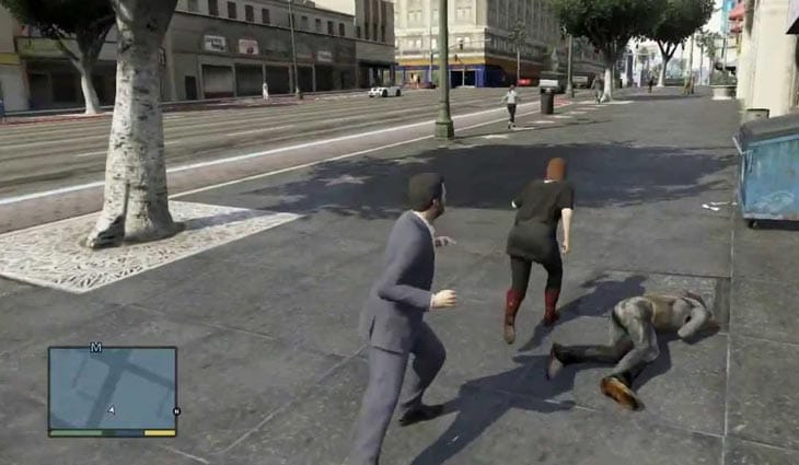 GTA-V-fighting-online