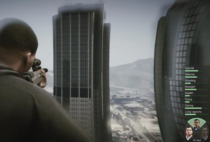 GTA V gameplay astonishes MGS 5 director
