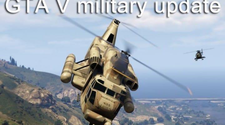 GTA V insistence for military update
