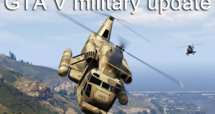GTA V insistence for military update