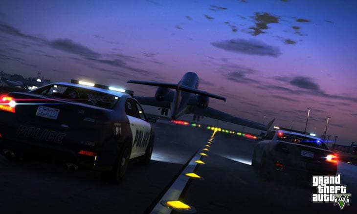 Flying around GTA 5 will be one way to avoid police