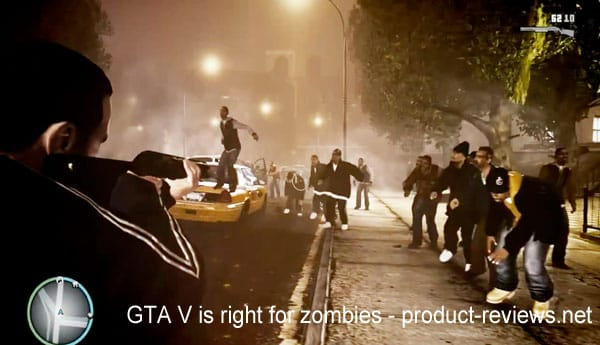 GTA V is right for zombies
