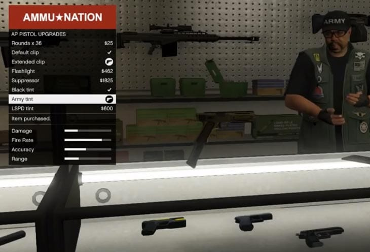 Quest Auto Sales >> GTA V weapons setup stops cheaters – Product Reviews Net