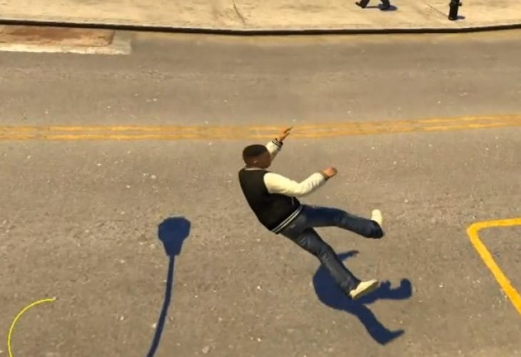 GTA V special abilities released as GTA IV PC mod