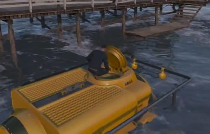 Online Auto Sales >> GTA V underwater weapons, aliens and submarine – Product Reviews Net