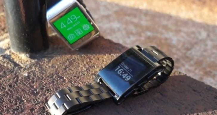 Galaxy Gear vs. Pebble – Similarities and disparities