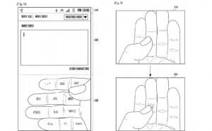 Samsung patents 'Galaxy Glass' keyboard concept
