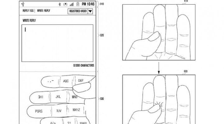 Samsung patents 'Galaxy Glass' keyboard concept