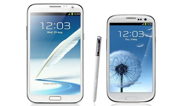 Samsung Galaxy S3 Jelly Bean, Note 2 hit Singapore
