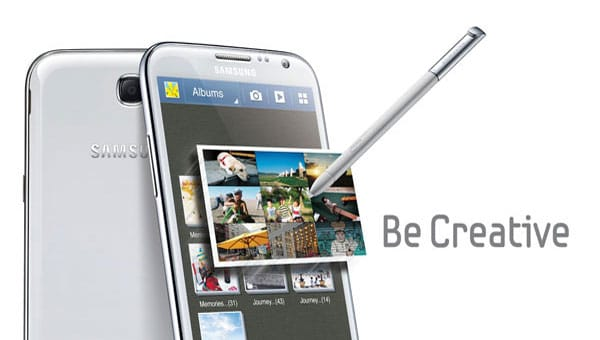 Samsung Galaxy Note 2 price card has wrong specs