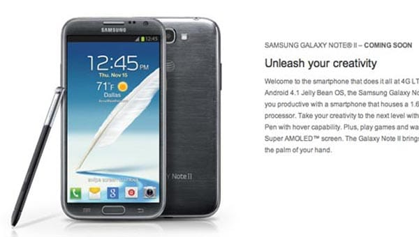Galaxy Note 2 coming to AT&T, Sprint, Verizon starting tomorrow